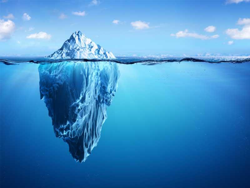 nguyên lý tảng băng trôi trong kinh doanh