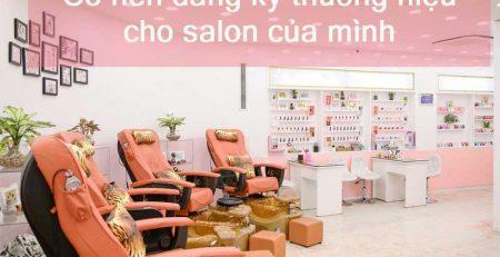 Đăng ký thương hiệu cho salon