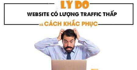 Vì sao website có lượng traffic thấp