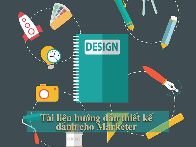 hướng dẫn thiết kế cho Marketer