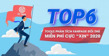 Top 6 công cụ phân tích fanpage đối thủ